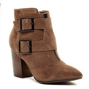 Restricted Jet Set Pointy Toe Bootie